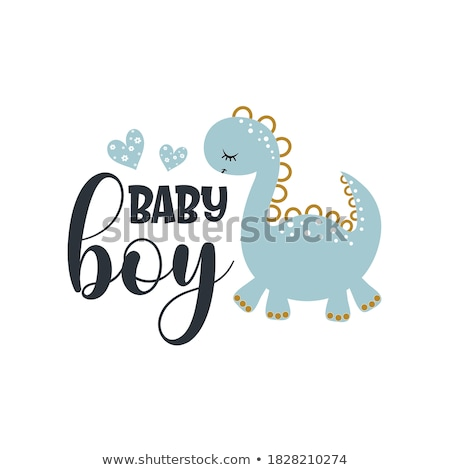 cute baby boy stroller stock photo © trinochka
