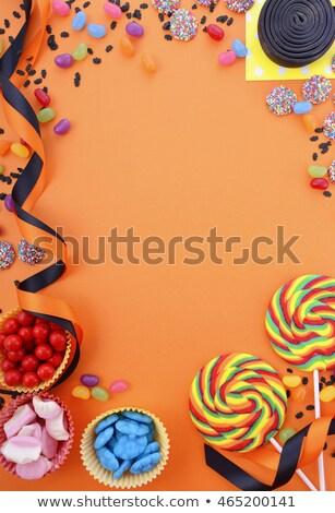 hazır · halloween · arka · plan · turuncu · siyah · tatil - stok fotoğraf © lightsource