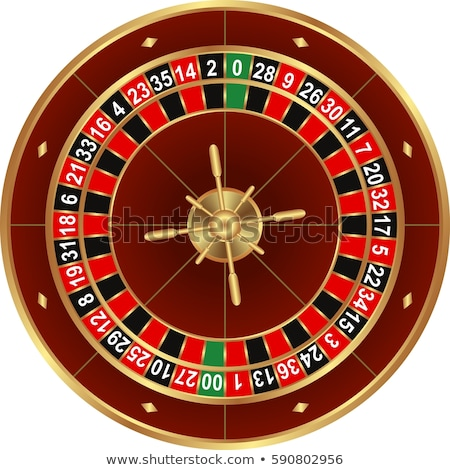 Rueda de la ruleta ilustración mesa máquina tarjeta jugar Foto stock © get4net