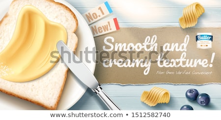 Toast and margarine Stock photo © Digifoodstock