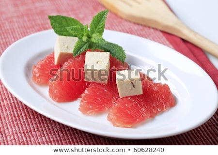 グレープフルーツ 豆腐 ピース 赤 食品 フルーツ ストックフォト © Digifoodstock