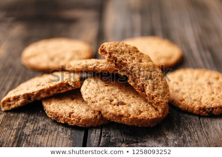 クッキー 健康 小麦 ダイエット ボウル ストックフォト © drobacphoto