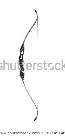 bow and arrows isolated on white stock photo © elnur