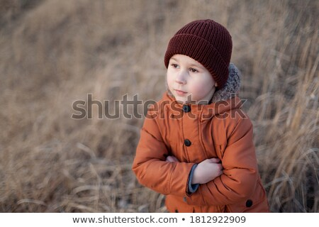 Handsome boy in a jacket   Stock photo © krugloff