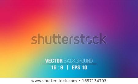 vert · paysage · Rainbow · ciel · nuages · nature - photo stock © creativika
