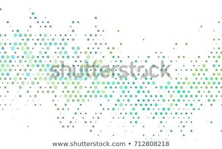 abstract circle mosaic background effect Stock photo © SArts