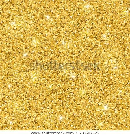 Foto stock: Abstrato · sem · costura · ouro · brilho · padrão · círculos