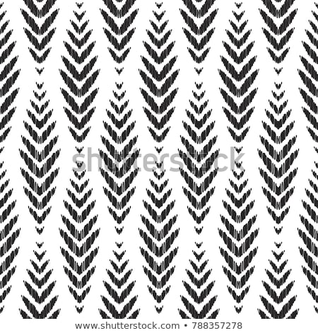 Vector seamless ikat ethnic pattern Stock photo © fresh_5265954