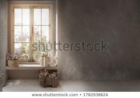 detail of vintage window stock photo © klinker