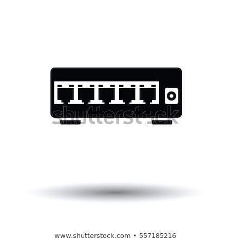 router · icona · colore · computer · tecnologia · web - foto d'archivio © angelp