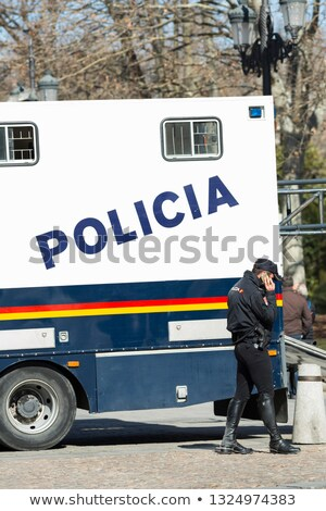 Spain Police Car Stock photo © derocz