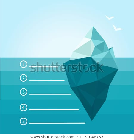 Iceberg Business Concept Stock photo © Lightsource