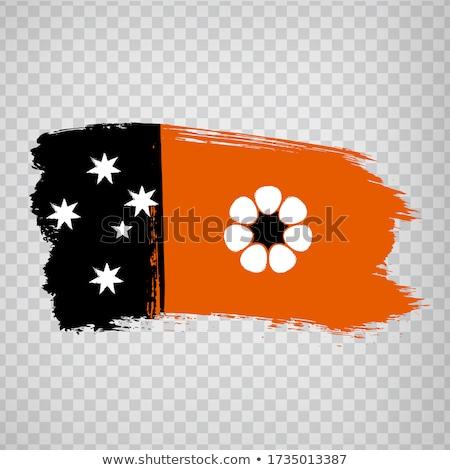 Australijczyk banderą kraju Zdjęcia stock © Bigalbaloo
