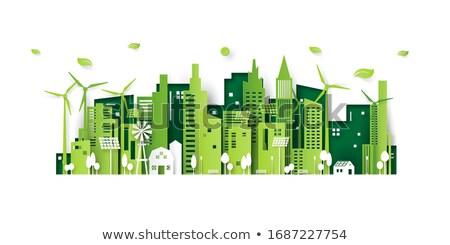 Environment friendly energy Stock photo © 5xinc