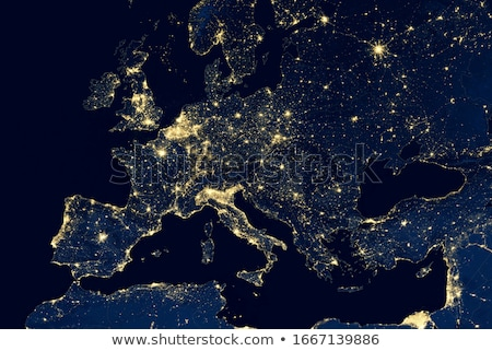 World - Europe. Elements of this image furnished by NASA Stock photo © ixstudio