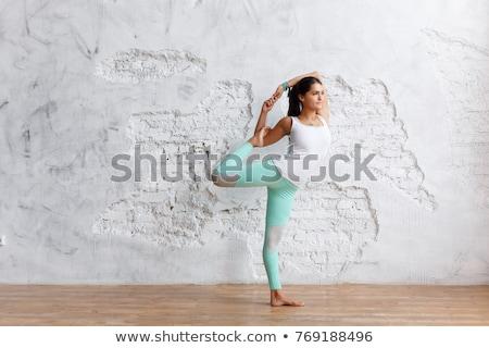 Distance formation blanche mur de briques doodle icônes Photo stock © tashatuvango