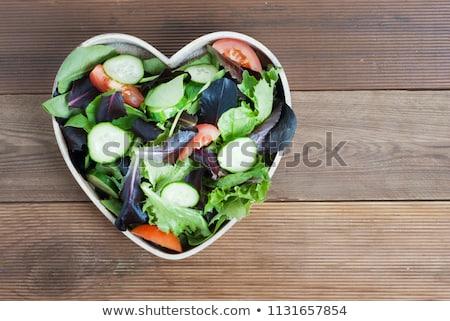veggie heart stock photo © fisher