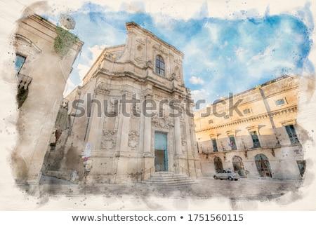 Santa Chiara church in Piazzetta Vittorio Emanuele II square of Lecce. Stock photo © Photooiasson