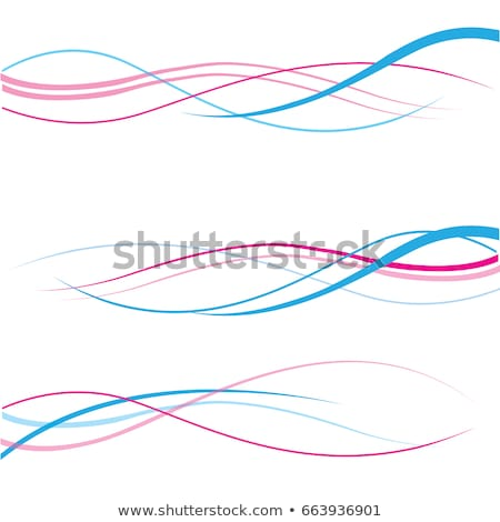 Roze abstract lijn curve golvend textuur Stockfoto © Kheat