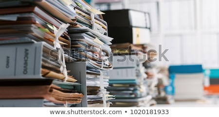 Law Concept on Folder Register. Stock photo © tashatuvango
