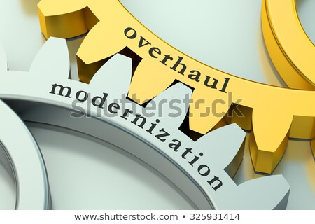 Overhaul Modernization. 3D. Stock photo © tashatuvango