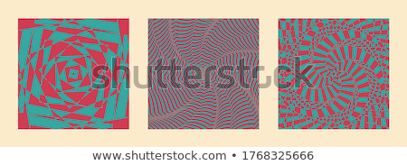 Spiral Vortex Set Vector. Vector. Optical 3d Art. Spiral Twisted Vortex Tunnel Shape. Tunnel Hole Ef Stock photo © pikepicture