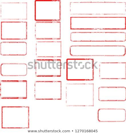 caoutchouc · timbres · ensemble · texte · voir - photo stock © 5xinc