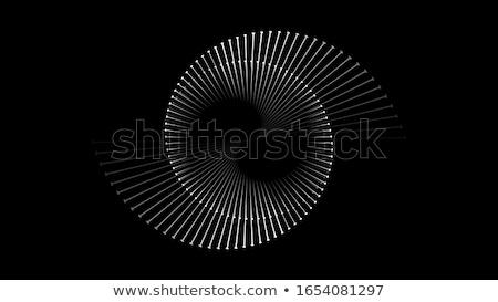 Vektor absztrakt kör vonalak körök modern Stock fotó © freesoulproduction