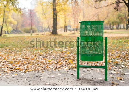 Trash bin in the park Stock photo © wdnetstudio
