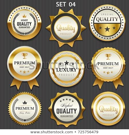 Qualité attribution prime meilleur garantir or Photo stock © robuart