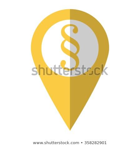 Párrafo signo jurídica símbolo ley escala Foto stock © Lightsource