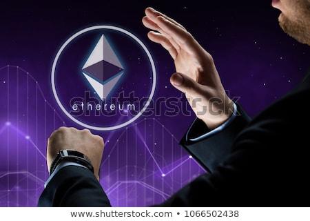 üzletember · okos · óra · pénzügyi · technológia · üzlet - stock fotó © dolgachov