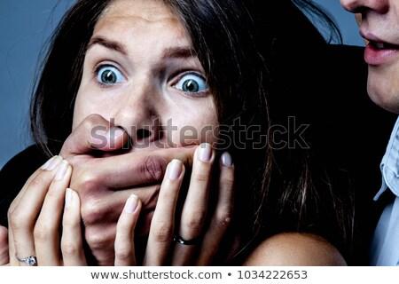 男 · 提案 · 女性 · ショック · 家族 · 顔 - ストックフォト © andreypopov