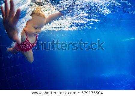 piscina · azul · superfície · textura · praia · água - foto stock © colematt