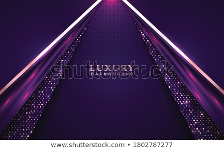 purple roses vector realistic violet background with glitter lights decors stock photo © frimufilms