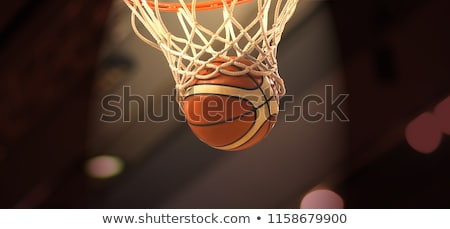 Basketball - Photo Object Stock photo © CrackerClips