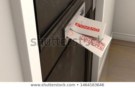 долг конверт почты два Сток-фото © albund