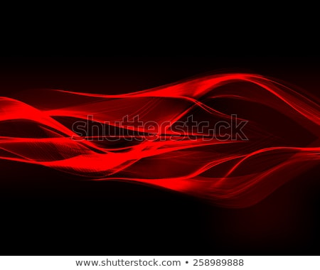 Golvend neon licht streep abstract Stockfoto © SArts