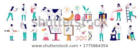 Genetically modified animals concept vector illustration Stock photo © RAStudio