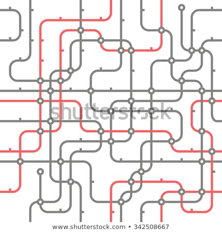 City Transport Line Pattern Concept Stock photo © Anna_leni
