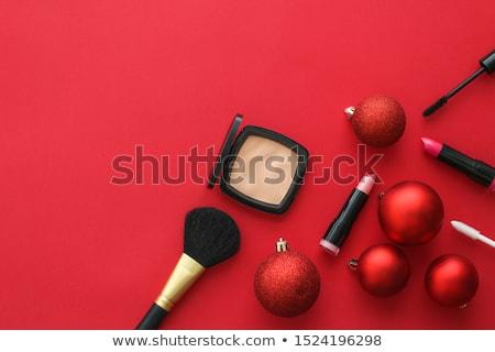 ストックフォト: Make Up And Cosmetics Product Set For Beauty Brand Christmas Sal