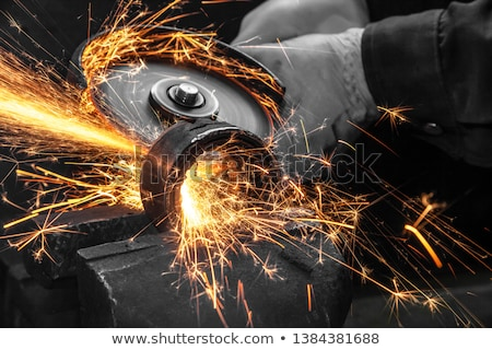 circular saw in close up Stock photo © gewoldi
