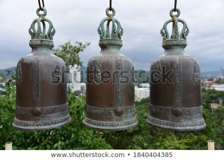 three buddhist bells Stock photo © smithore