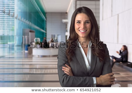 Bela mulher advogado belo mulher jovem negócio terno Foto stock © piedmontphoto