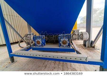 silot for storing grain stock photo © xedos45