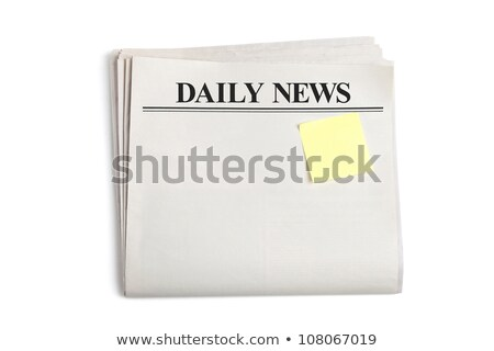 Daily News and Sticky Note stock photo © devon