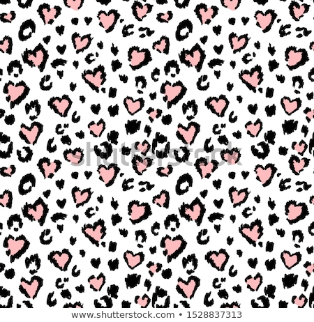 seamless pattern with cute animals stock photo © lenlis