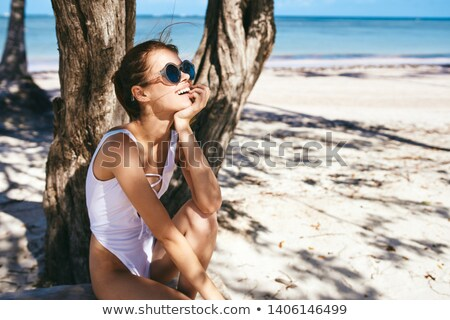 Woman modelling a swimsuit Stock photo © photography33