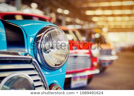 close up of vintage car stock photo © ra2studio