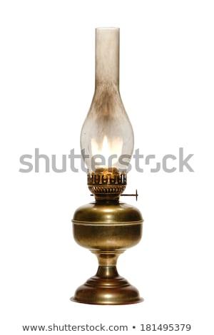 古い · ランプ · 孤立した · 白 · ミラー · 家 - ストックフォト © gavran333
